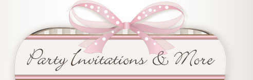 Party Invitations, Gift Tags, Fantastic Frames, and Cards