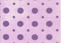 Light Lilac and Purple Polka Dot